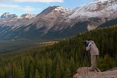 About Colorado fine art landscape and nature photographer, Monte Trumbull.