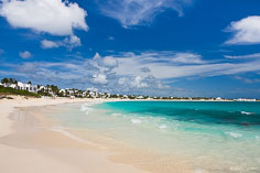 Cap Juluca Resort on the edge of the Caribbean Sea in Anguilla, BWI.