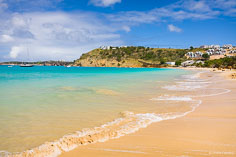 An inviting view of Crocus Bay in Anguilla, BWI.